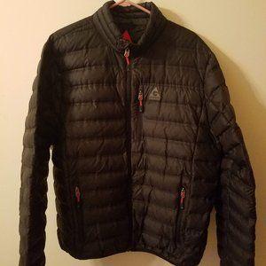 Men's Gerry Black Puffer Jacket Fillpower 650